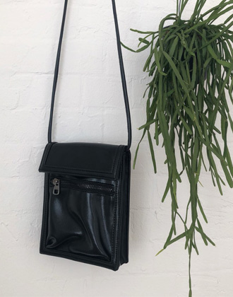 glossy mini bag